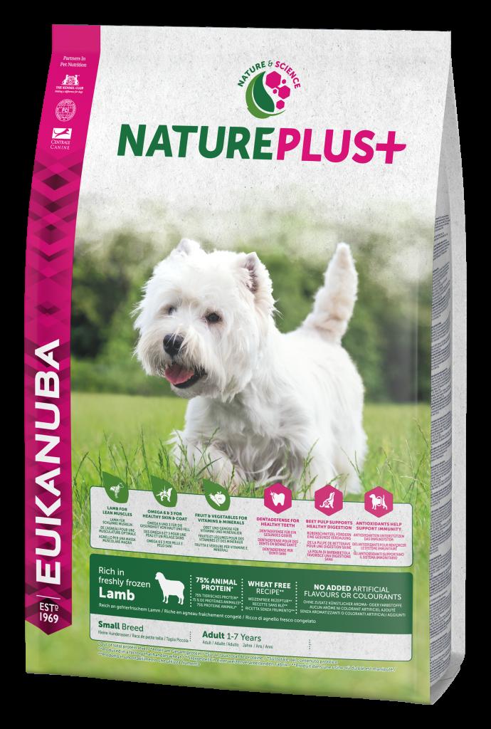 Eukanuba Nature Plus 2.3KG Small Lamb Perspective [no KG]